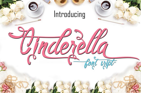 cinderella-script-font