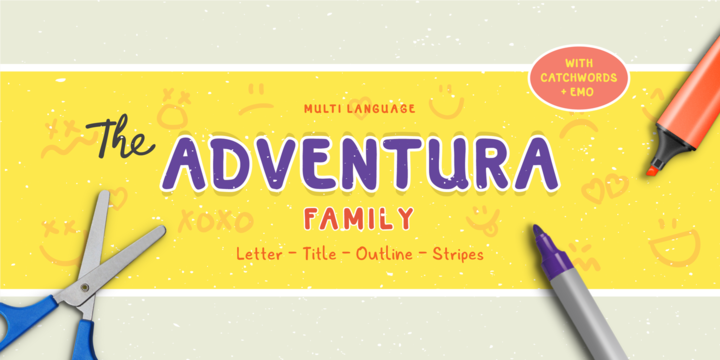 adventura-font-family