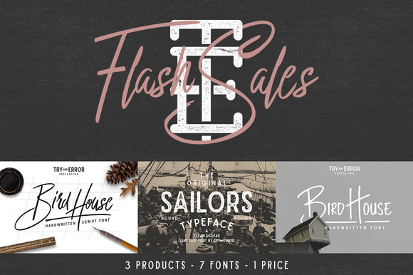 Flash Sales Font Free