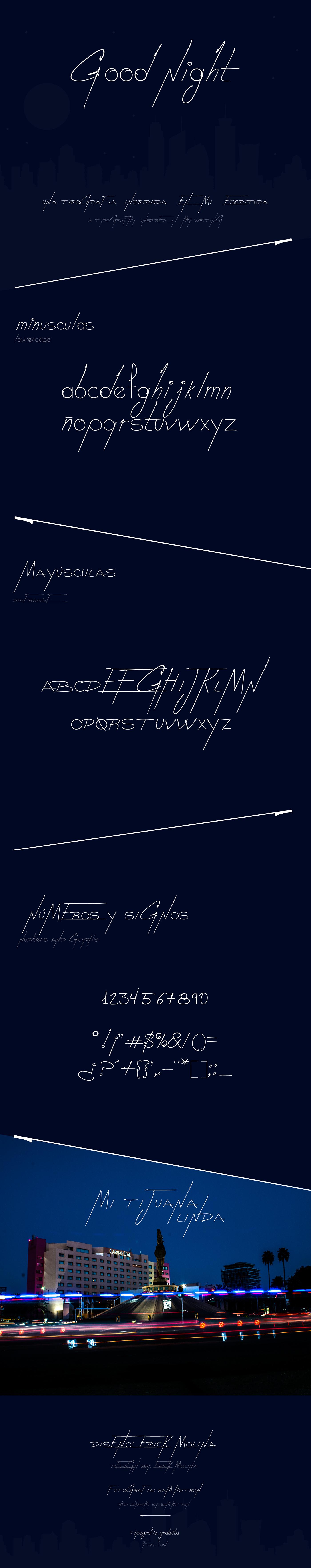 good-night-font