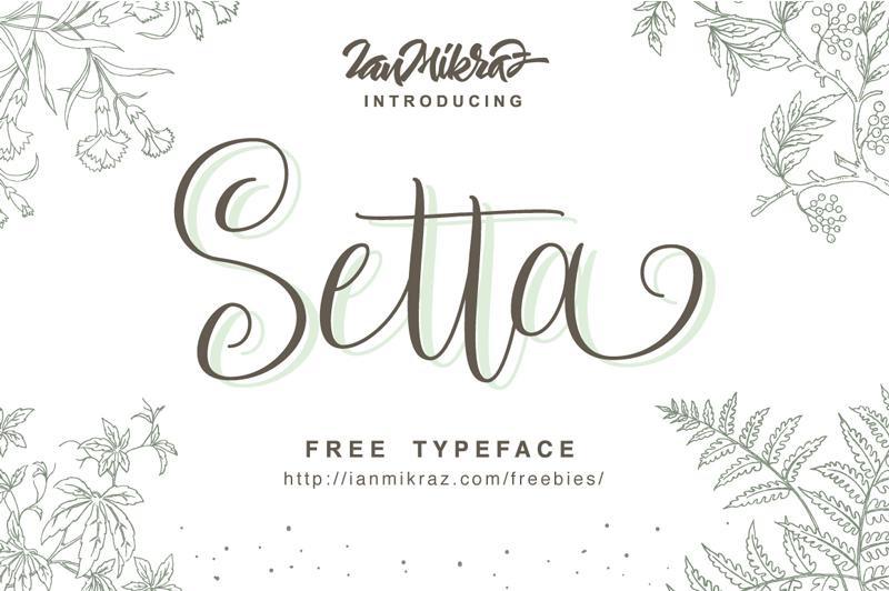 setta-script-font