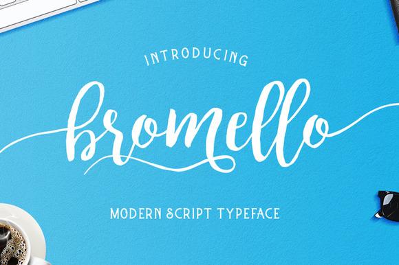 Bromello Font Free