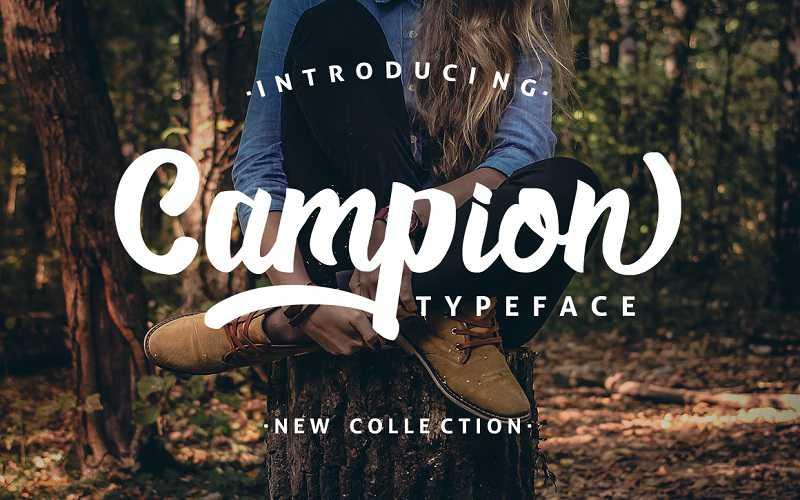 campio-script-font