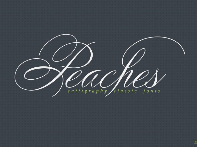 Peaches-Calligraphic-font-3-800x600
