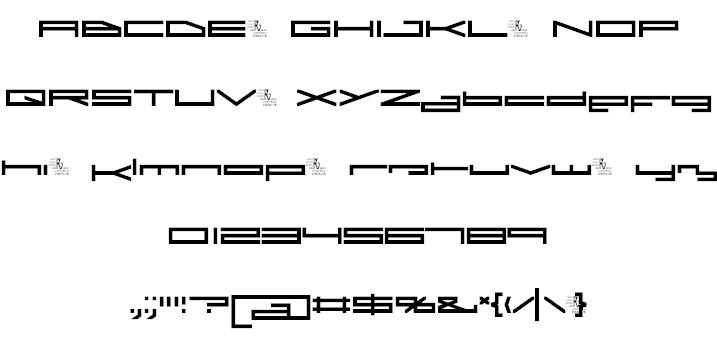 A.I. Rebellion font 2