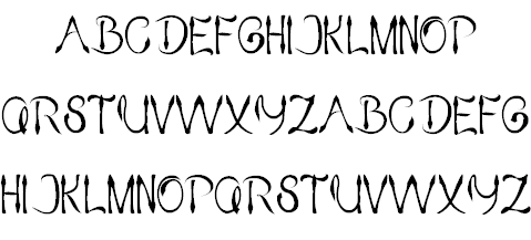 KING OF PIRATE font 2