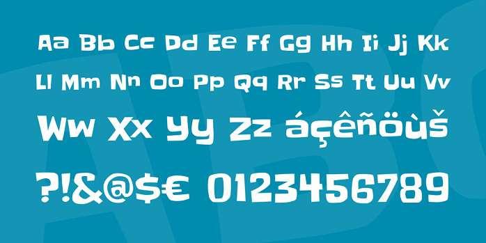 Slackey Font-1