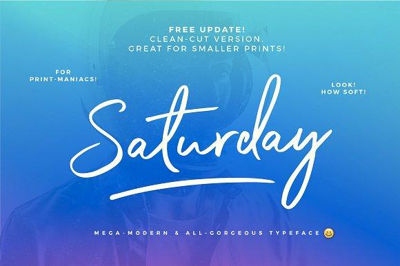 Great Saturday Font