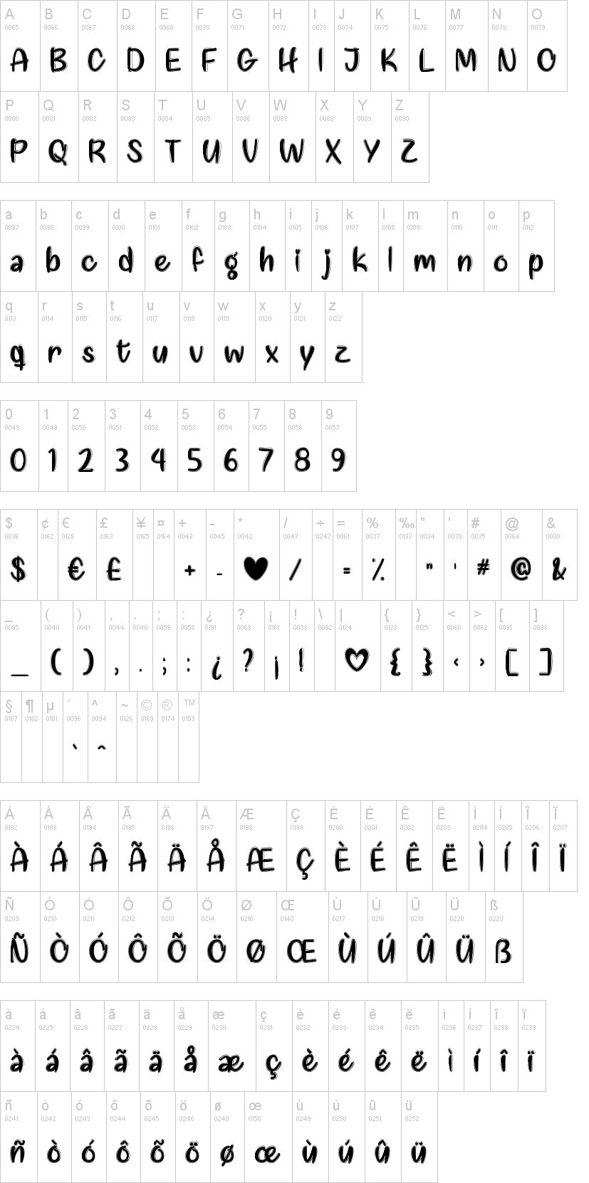 Love Like This Font-1
