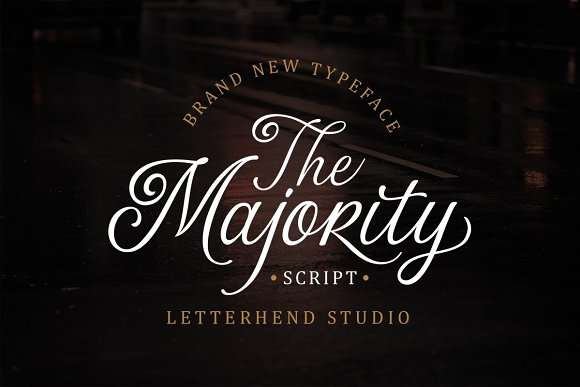 The Majority Font