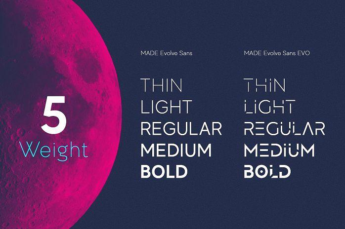 MADE Evolve Sans Font Family-1