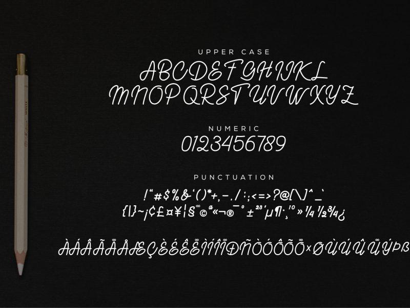Kaibon Signature Font-2