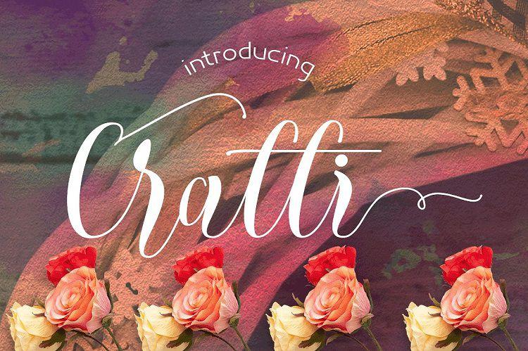 Cratti Script Font