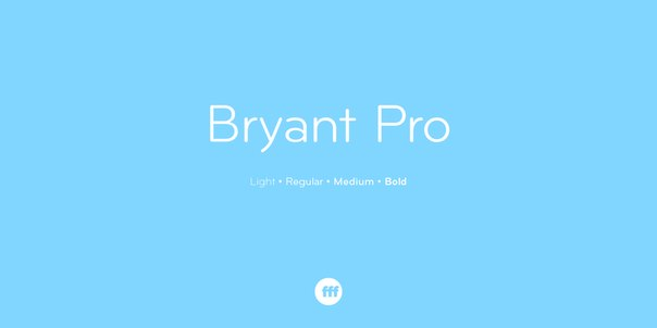Bryant Pro Font Family