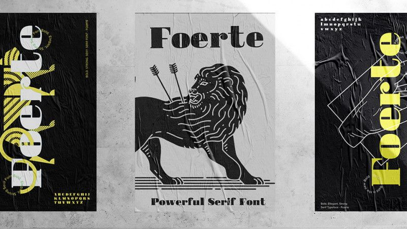 Foerte Serif Font-2