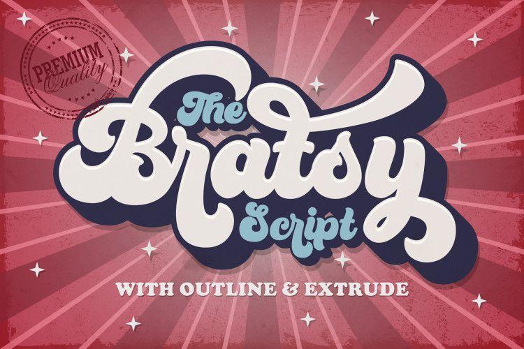 bratsy-bold-script-font