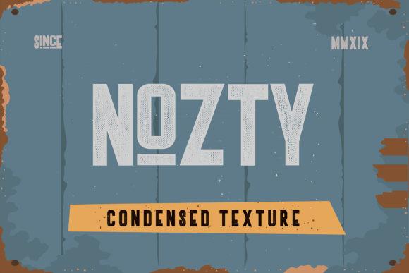 Nozty Typeface