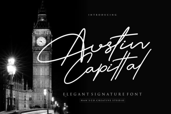 Austin Capittal Font