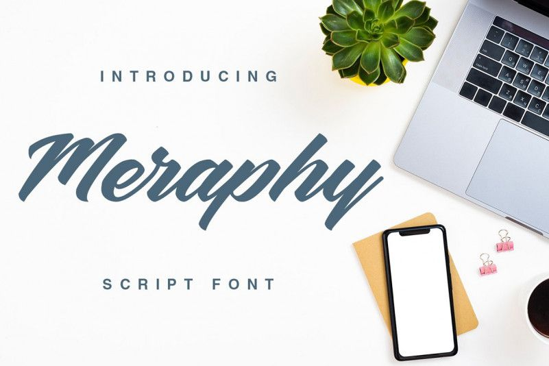 meraphy-script-font-1
