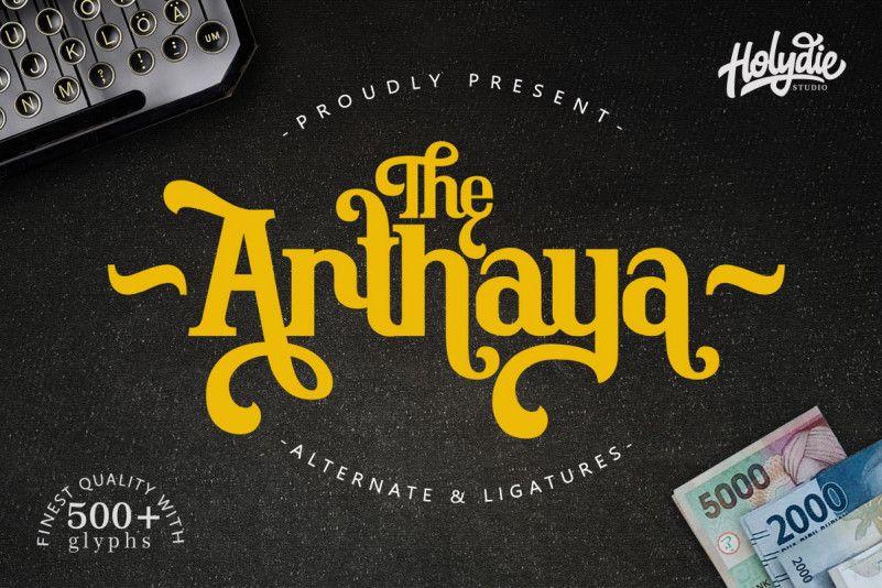 the-arthaya-display-font-1